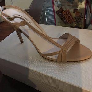SJP Tan Sandal Heels - Size 38